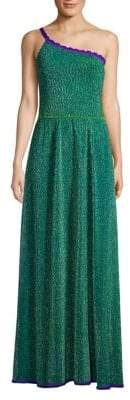 Missoni Lurex One-Shoulder Gown