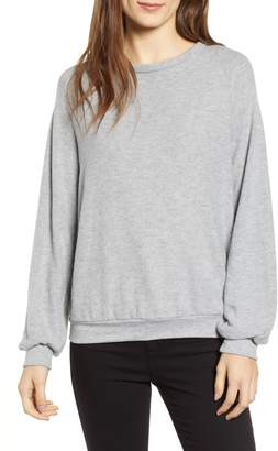 Project Social T After Hours Open Back Sweatshirt