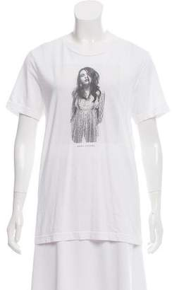 Marc Jacobs Short Sleeve Graphic Top