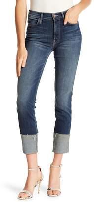 Mother Pony Boy Ankle Fray Jeans
