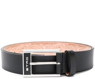 Etro logo embellished belt