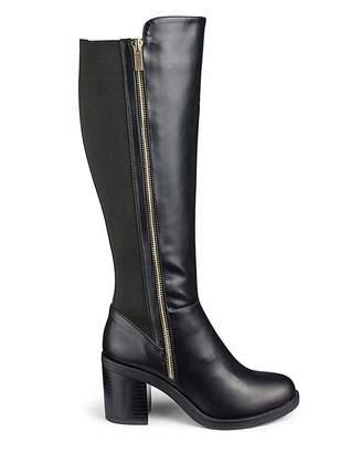 676713f604af Simply Be Tokyo Boots Ex Wide Fit Super Curvy Calf