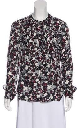 Veronica Beard Silk Printed Tunic