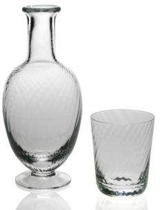 William Yeoward Quilty Bedside Carafe and Tumbler Set