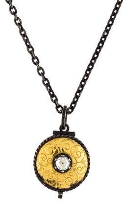Arman Sarkisyan Diamond Locket Necklace