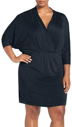 Tart Constance Batwing Sleeve Blouson Dress (Plus Size)