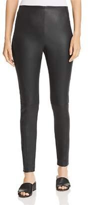 Elie Tahari Roxanna Leather Leggings