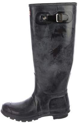 Hunter Rubber Knee-High Rain Boots