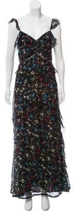 Love Sam Floral Print Maxi Dress w/ Tags
