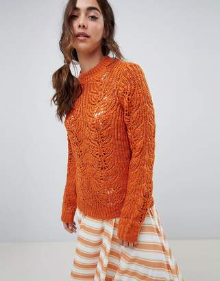 Vero Moda Chunky Cable Knit Jumper