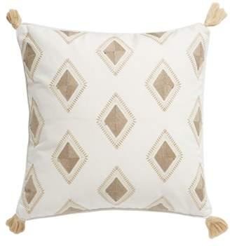 Levtex Tegan Diamond Tassel Accent Pillow