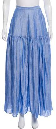 Co Flared Maxi Skirt