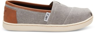 Toms Frost Grey Chambray Youth Classics