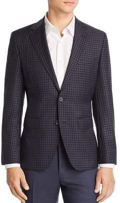 BOSS Jewels District Check Regular Fit Wool Sport Coat