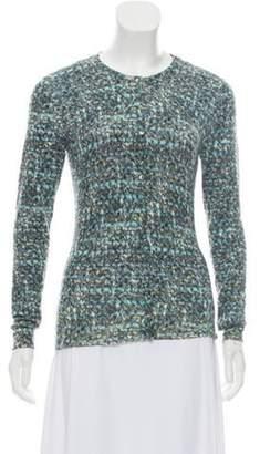 Dolce & Gabbana Wool Printed Cardigan blue Wool Printed Cardigan