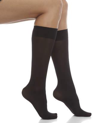 8d2430236fe Hue 3-Pack Opaque Knee-High Trouser Socks