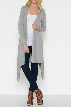 Esley Collection Long Lightweight Cardigan $48 thestylecure.com