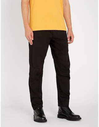 MHI Logo-embroidered relaxed-fit cotton trousers