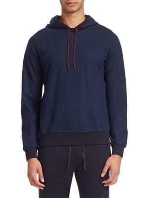 Loro Piana Cashmere Hooded Sweatshirt