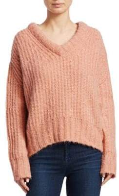 Sea Fabiana Boxy V-Neck Knit Sweater