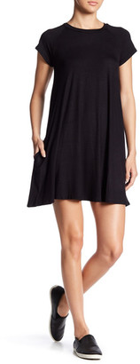 Soprano Short Sleeve Tee Dress $44 thestylecure.com