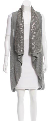 Alice + OliviaAlice + Olivia Embellished Knit Vest