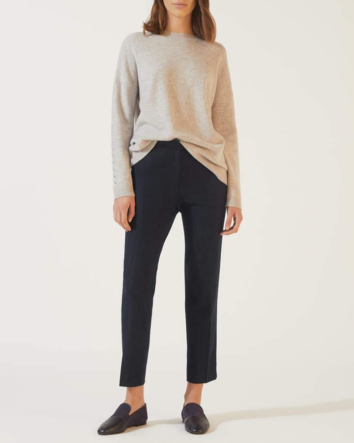 Melange Flannel Portofino Trousers