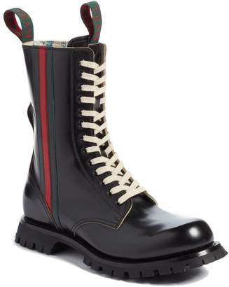 Gucci Arley Tall Web Boot