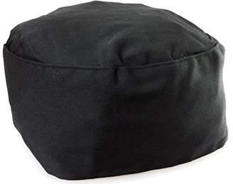 Black Chef Hat- Elastic Back