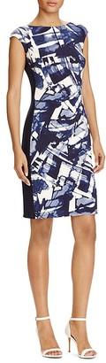 Lauren Ralph Lauren Printed Sheath Dress $135 thestylecure.com