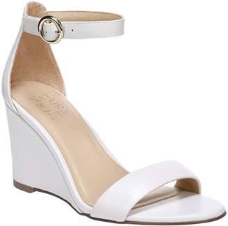 77ad886f79d4 Naturalizer Blue Heel Strap Women s Sandals - ShopStyle