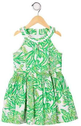 Lilly Pulitzer Girls' Printed A-Line Dress