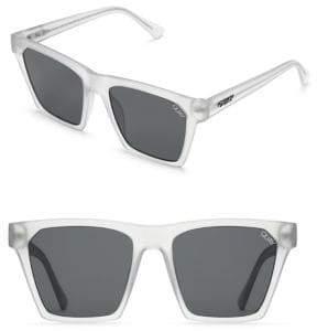 Quay Chrisspy 148MM Flat Square Sunglasses