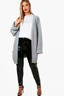 boohoo Plus Chunky Oversized Cardigan