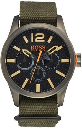 Men's Boss Orange 'Paris' Multifunction Watch, 47Mm $225 thestylecure.com