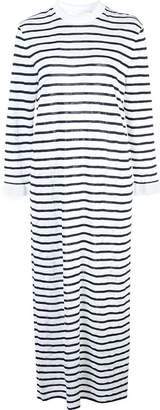 Chloé striped jersey long dress