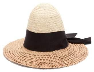 Benoit Missolin Colette Palm And Pedaline Straw Hat - Womens - Beige