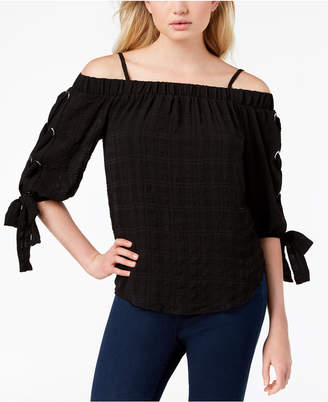 BCX Juniors' Off-The-Shoulder Top