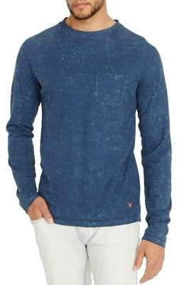 Buffalo David Bitton Kathern Long-Sleeve Cotton Tee