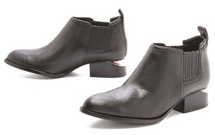 Alexander Wang Kori Ankle Booties with Rose Hardware