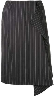 Stella McCartney striped midi skirt