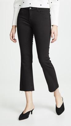 J Brand Selena Crop Boot Cut Jeans