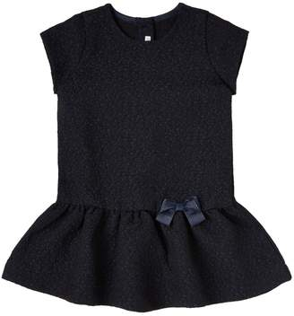 Benetton Baby Girls Party Bow Peplum Dress