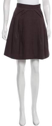 United Bamboo Wool Knee-Length Skirt