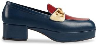 Gucci Horsebit platform loafers
