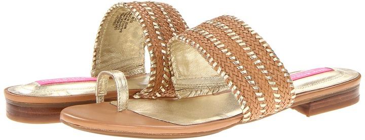 Isaac Mizrahi New York - Bailey (Rustic Tan/Gold) - Footwear