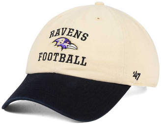 '47 Baltimore Ravens Steady Two-Tone Clean Up Cap