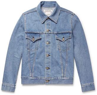 Remi Relief Distressed Denim Jacket