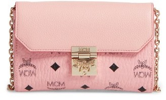 Mcm Millie Visetos Crossbody Bag - Pink $475 thestylecure.com