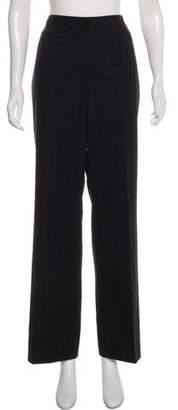 Akris Wool Striped Wide-Leg Pants